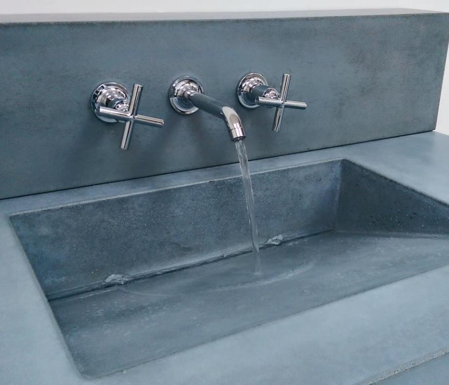 Bathroom Sinks And Vanities O A S I S Custom Concrete Designs