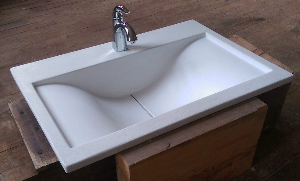 Bathroom Sinks And Vanities O A S I S Custom Concrete